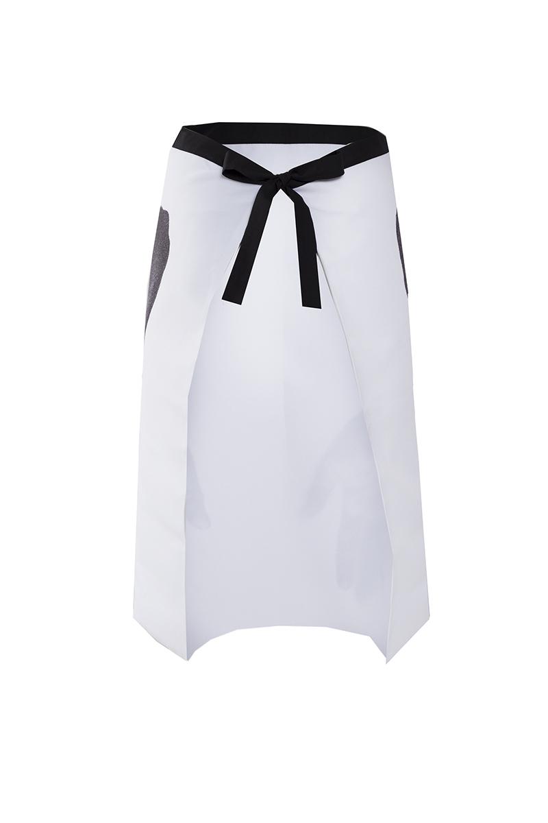 White apron black hands - Apron Hands